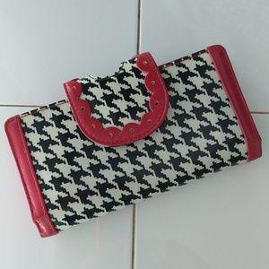 Vera Bradley frill wallet